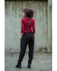 Trousers Knot It Organic Black