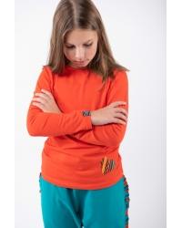 Blouse Be My Valentine Classic Kids Orange