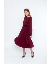 Dress Zoni Burgund