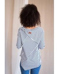 Blouse Raw Stripe