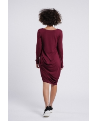 Dress Andao Burgundy