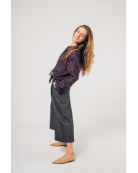 Pants Culotte Dark Grey