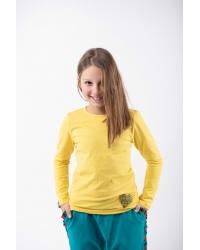 Blouse Be My Valentine Classic Kids Yellow
