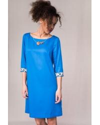 Dress Alhambra Pixel Blue